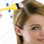 آموزش رنگ کردن مو در منزل سری۱