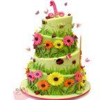 مدل کیک تولد سری ۱: