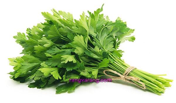 زمان کاشت سبزی خوردن - جعفری
