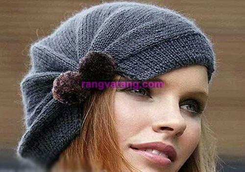 بافت کلاه زیبا و شیک