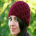 آموزش بافت یک مدل کلاه:
