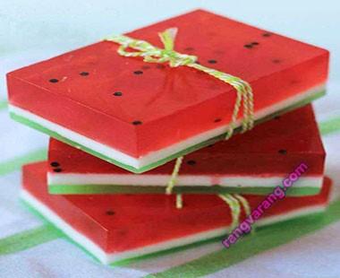 ژله شبیلدا- تزیین ژله هندوانه شب یلدا