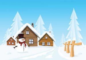 شعر کودکانه درباره زمستان