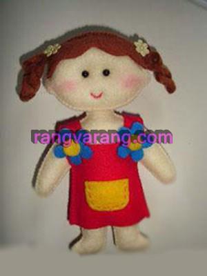 آموزش دوخت عروسک نمدی