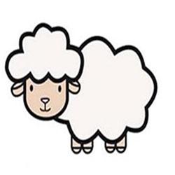 آموزش نقاشی گوسفند به کودکان