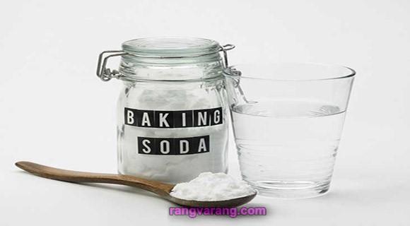ترکیب جوش شیرین و آب