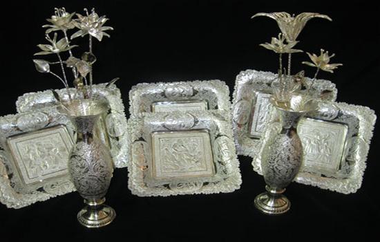 صنایع دستی اصفهان - نقره سازی