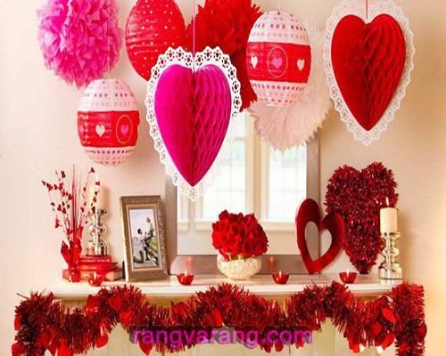 تزئینات برای ولنتاین