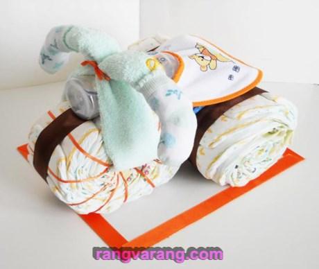 ایده هایی برای تزئین سیسمونی نوزاد