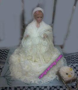 تزیین-پشمک عروس