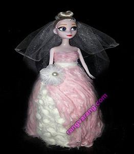 تزیین-پشمک شب چله عروس