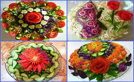 Decoration season's salad