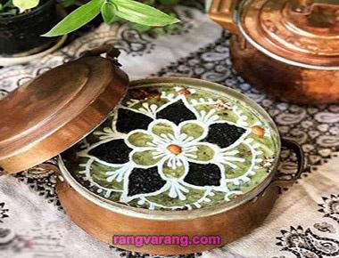 تزیین انواع آش ایرانی