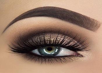 آموزش آرایش چشم (سایه چشم )