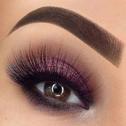 آرایش چشم سایه چشم