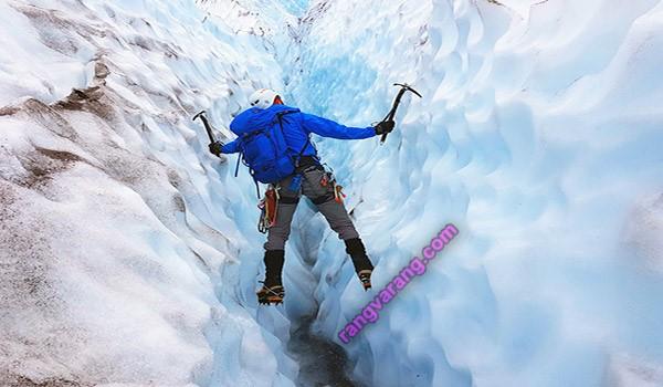 رشته های ورزشی- یخ نوردی