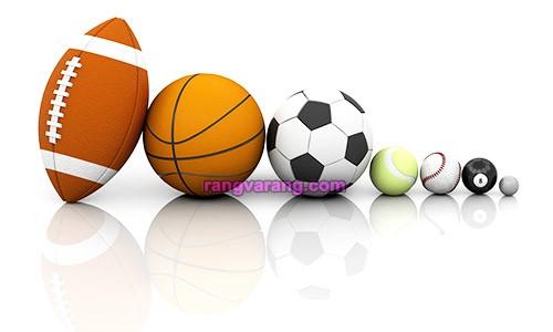 انواع توپ در ورزش های توپی