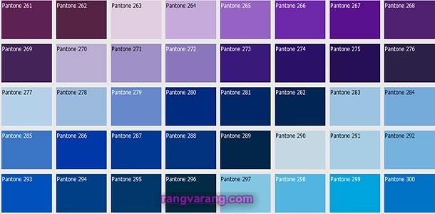 اعلام رنگ سال 2020 تو سط کمپانی پینتون