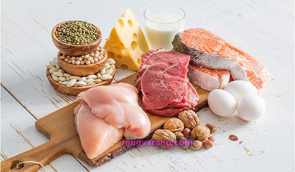 آب کردن شکم با بالا بردن مصرف پروتیین