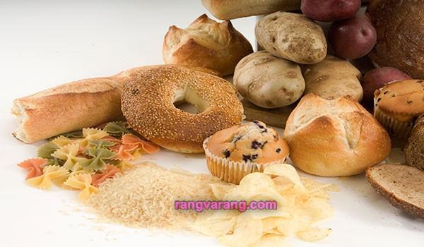 آب کردن شکم با کاهش مصرف کربو هیدرات