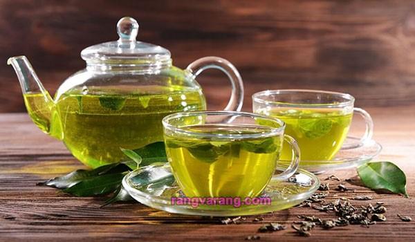 آب کردن شکم با نوشیدن چای سبز