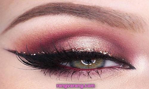 آموزش آرایش چشم در خانه