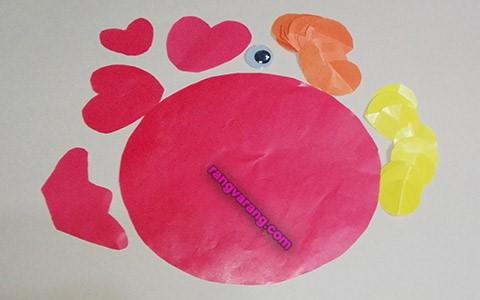 ساخت ماهی کاغذی برای کودکان
