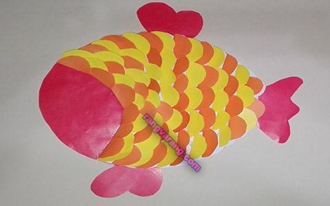 ساخت ماهی کاغذی