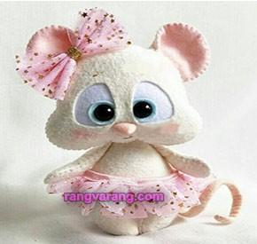 مدل موش نمدی بامزه