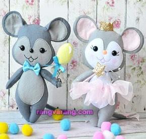 موش نمدی عروس و داماد