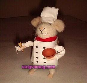 موش نمدی سرآشپز