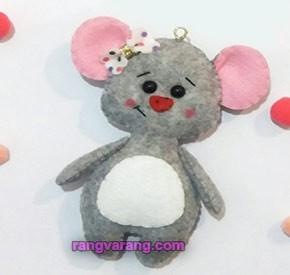 مدل موش نمدی