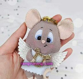 موش نمدی فرشته