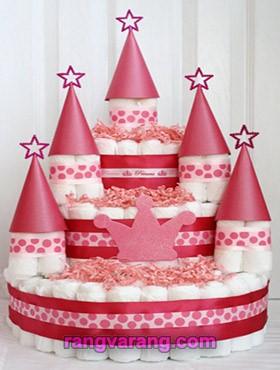 تزیین جدید کیک پوشک