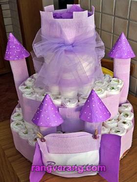 تزیین جدید کیک پوشکی