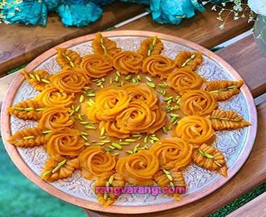 persian halva saffron