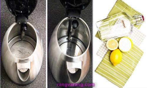 رسوب زدایی سماور، انواع کتری و چای ساز
