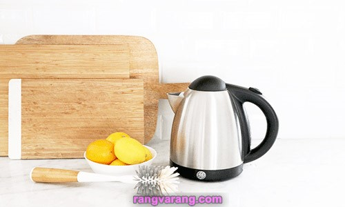 رسوب زدایی کتری و چای ساز