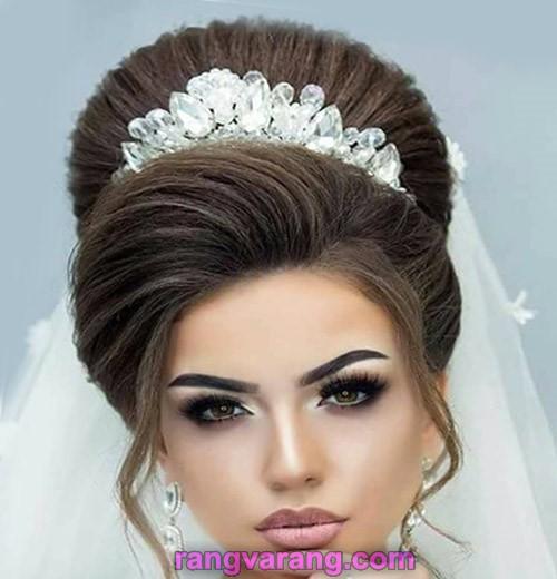 رنگ مو برای عروس