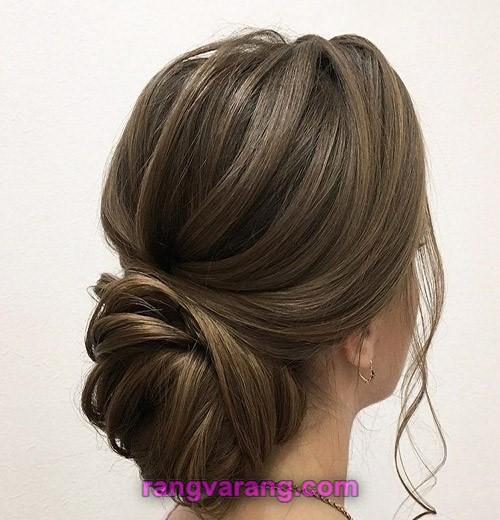 رنگ موی هایلایت برای عروس