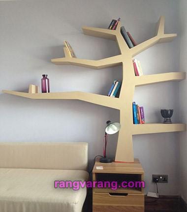 کتابخانه طرح درخت