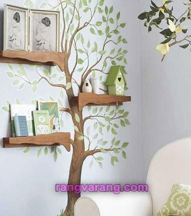 کتاب خانه طرح درخت