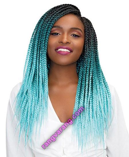 بافت موهای رنگ شده