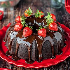 مدلهای تزیین کیک شکلاتی
