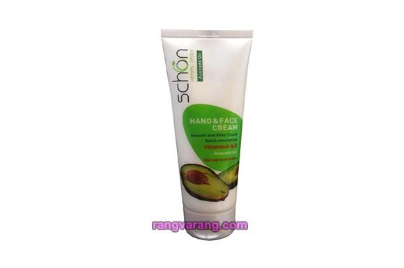 کرم مرطوب کننده دست و صورت شون مدل Avocado Oil