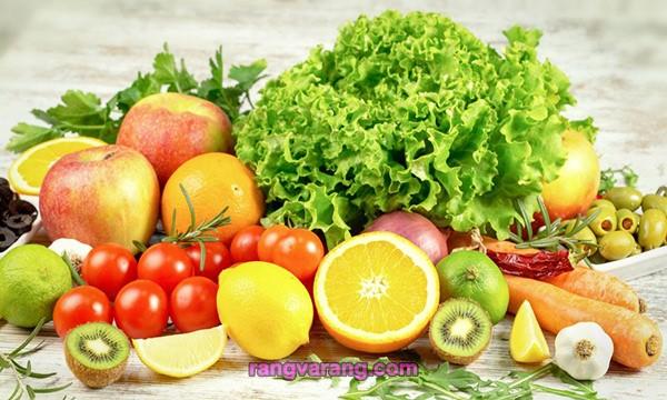 تقویت سیستم ایمنی بدن با میوه و سبزی