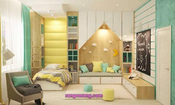 دکوراسیون اتاق خواب 2021 به رنگ سال