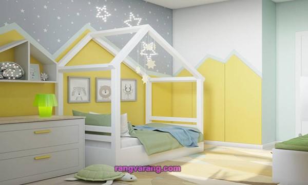 اتاق کودک با رنگ سال 2021