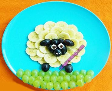 ایده تزیین میوه کودک