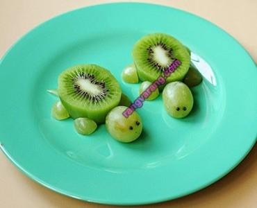 تزیین میوه کودک خلاقانه
